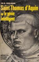 Photo Saint Thomas d'Aquin ou le génie intelligent